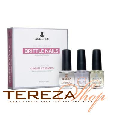 BRITTLE NAIL KIT JESSICA | Tereza Shop