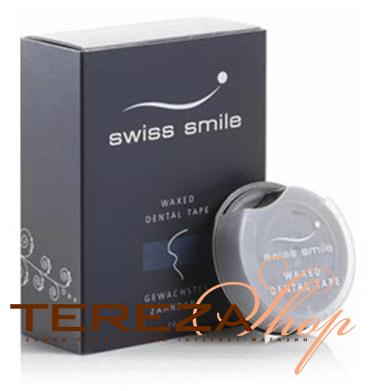 WAXED DENTAL TAPE SWISS SMILE | Tereza Shop