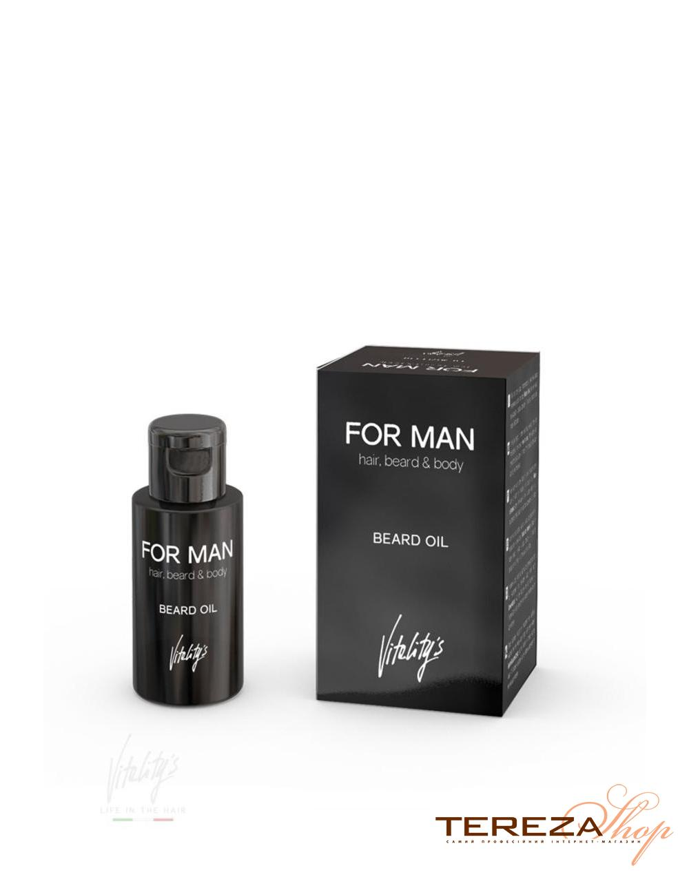 FOR MAN BEARD OIL VITALITY'S | Tereza Shop