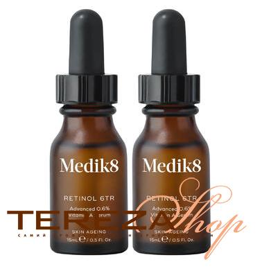 BEAUTY BOX RETINOL 6TR SERUM DUO + GIFT MEDIK8  | Tereza Shop