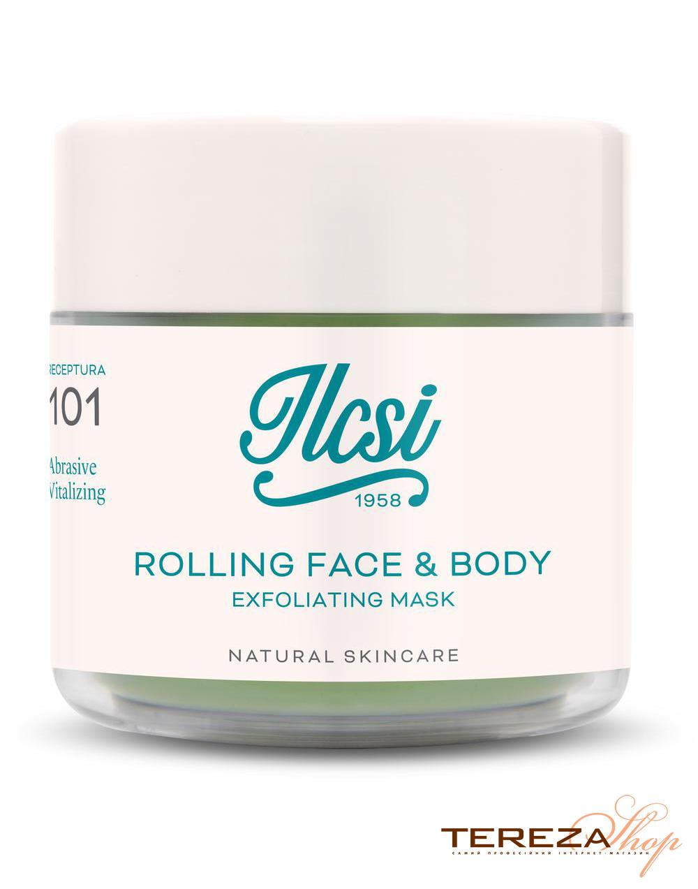 ROLLING FACE & BODY EXFOLIATING MASK 50 ml ILCSI | Tereza Shop
