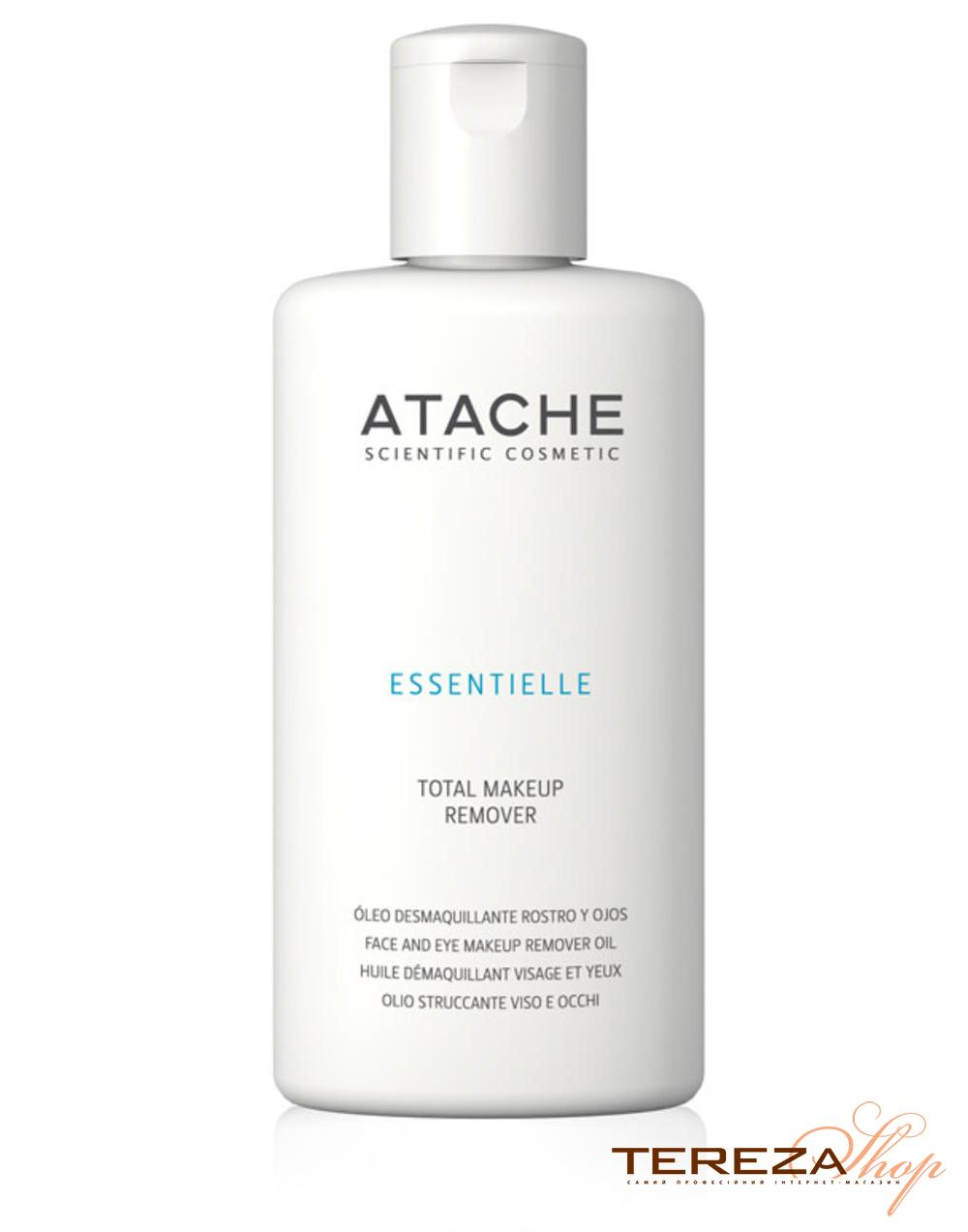 ESSENTIELLE TOTAL MAKE-UP REMOVER OIL 115ml  ATACHE | Tereza Shop