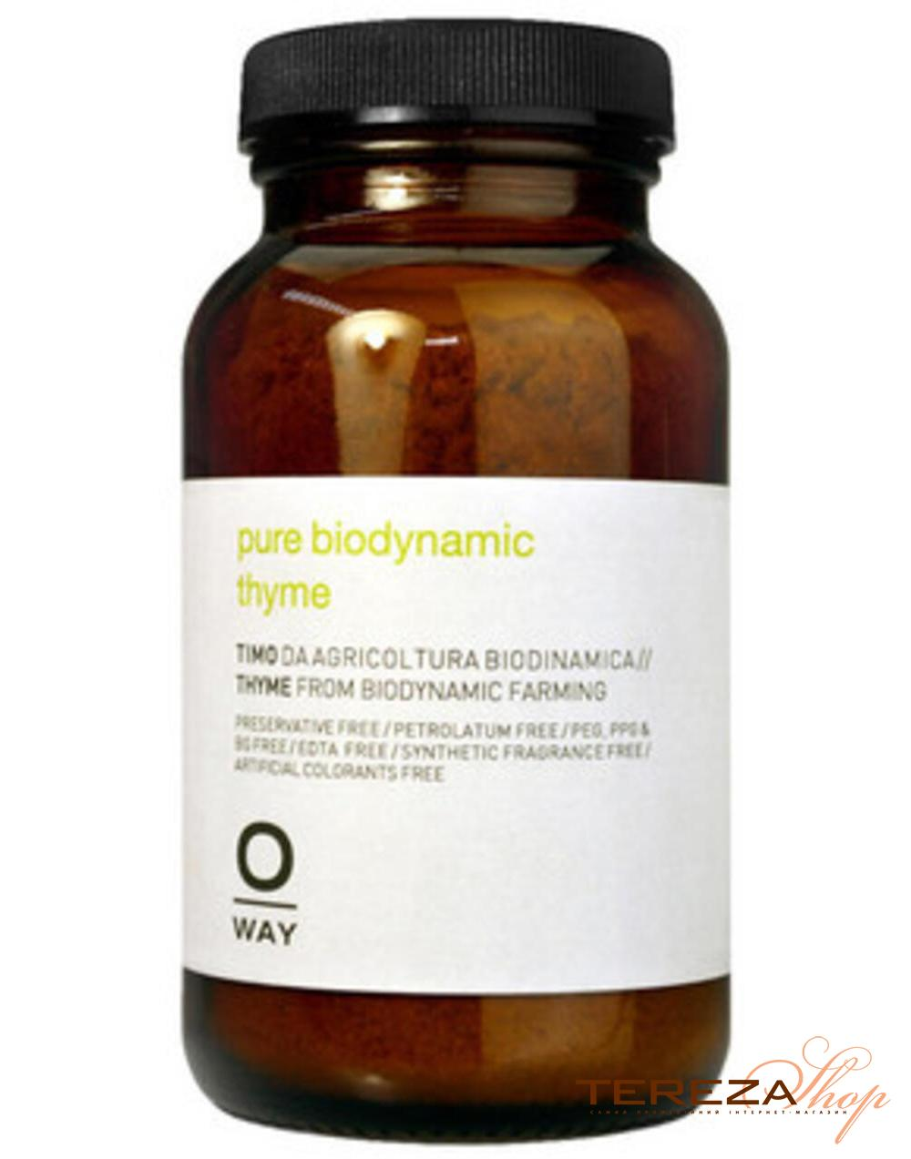 PURIFYING PURE BIODYNAMIC THYME OWAY | Tereza Shop