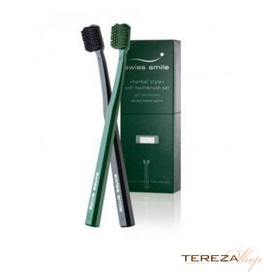 SOFT TOOTHBRUSH SET SWISS SMILE | Tereza Shop