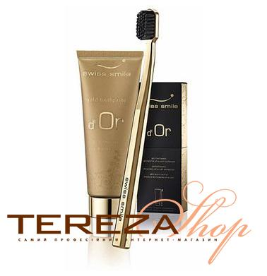 D'OR TOOTHGEL& TOOTHBRUSH SWISS SMILE | Tereza Shop