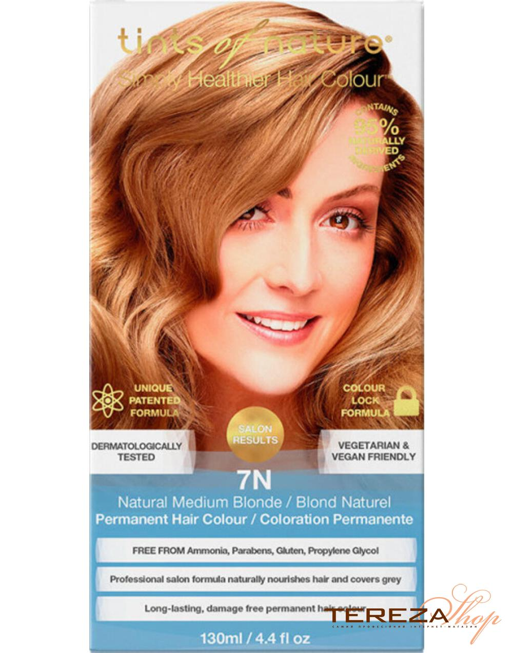 7N NATURAL MEDIUM BLONDE TINTS OF NATURE | Tereza Shop