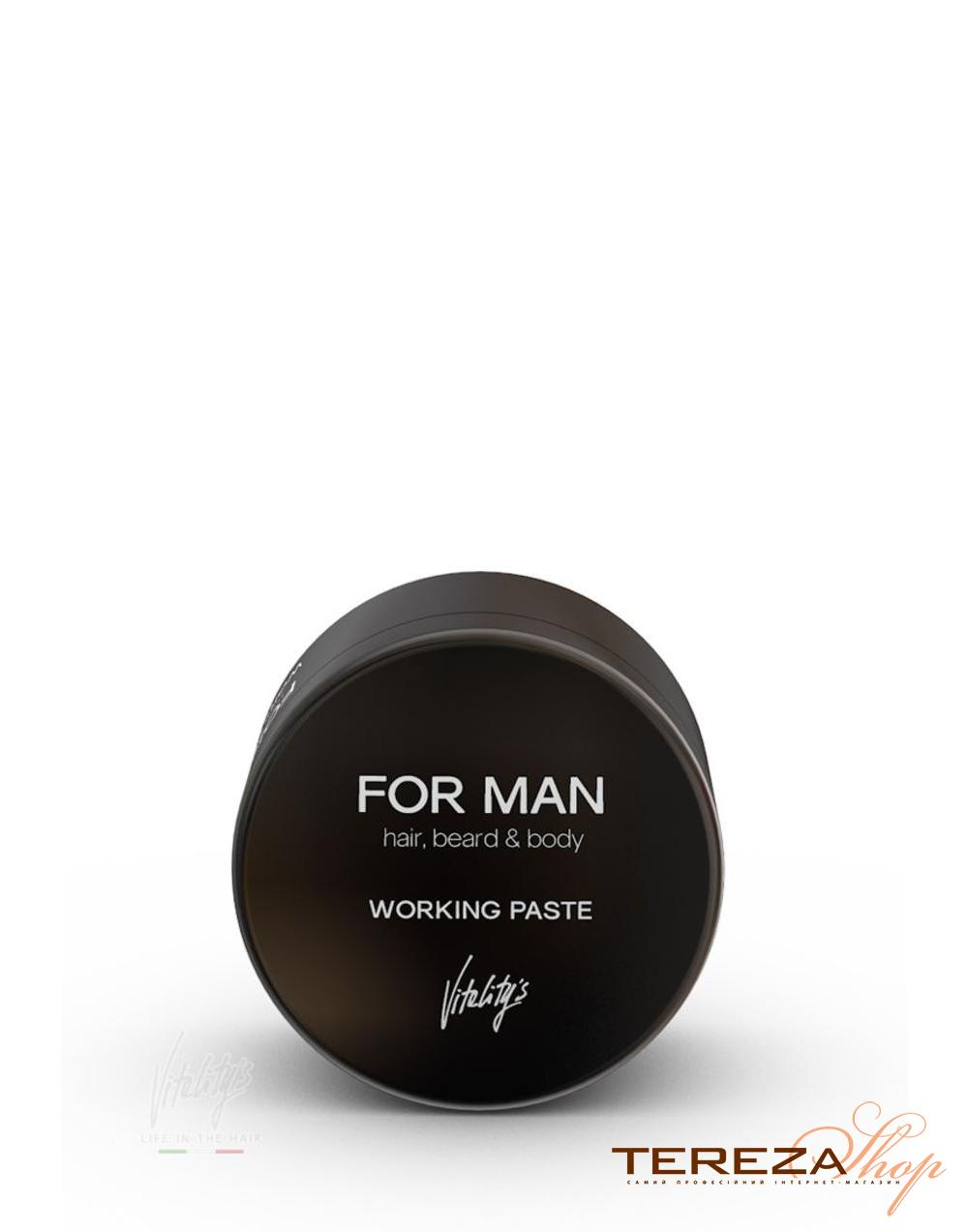 FOR MAN WORKING PASTE VITALITY'S | Tereza Shop