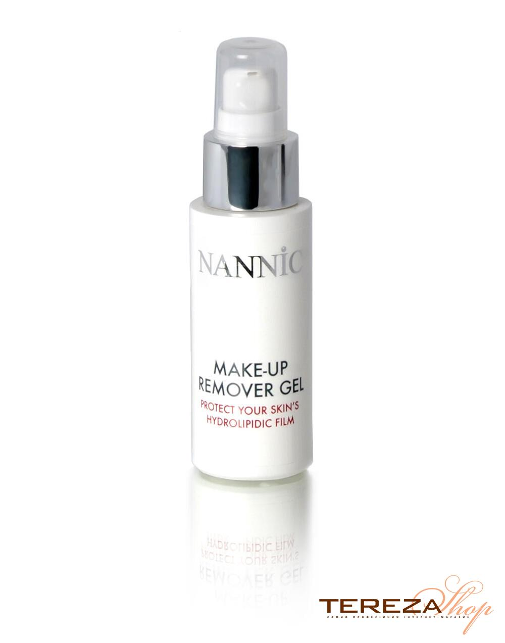 MAKE-UP REMOVER GEL 50ml NANNIC | Tereza Shop