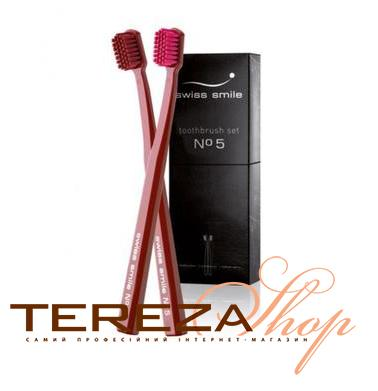 №5 TOOTHBRUSH SET SWISS SMILE  | Tereza Shop
