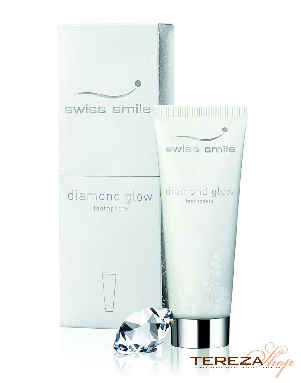 DIАMОND GLOW TOOTHPASTE SWISS SMILE  | Tereza Shop