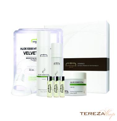 ALOE ESSENTIAL SOOTHING SET SFERANGS | Tereza Shop