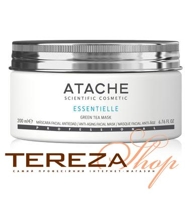 ESSENTIELLE GREEN TEA MASK ATACHE | Tereza Shop