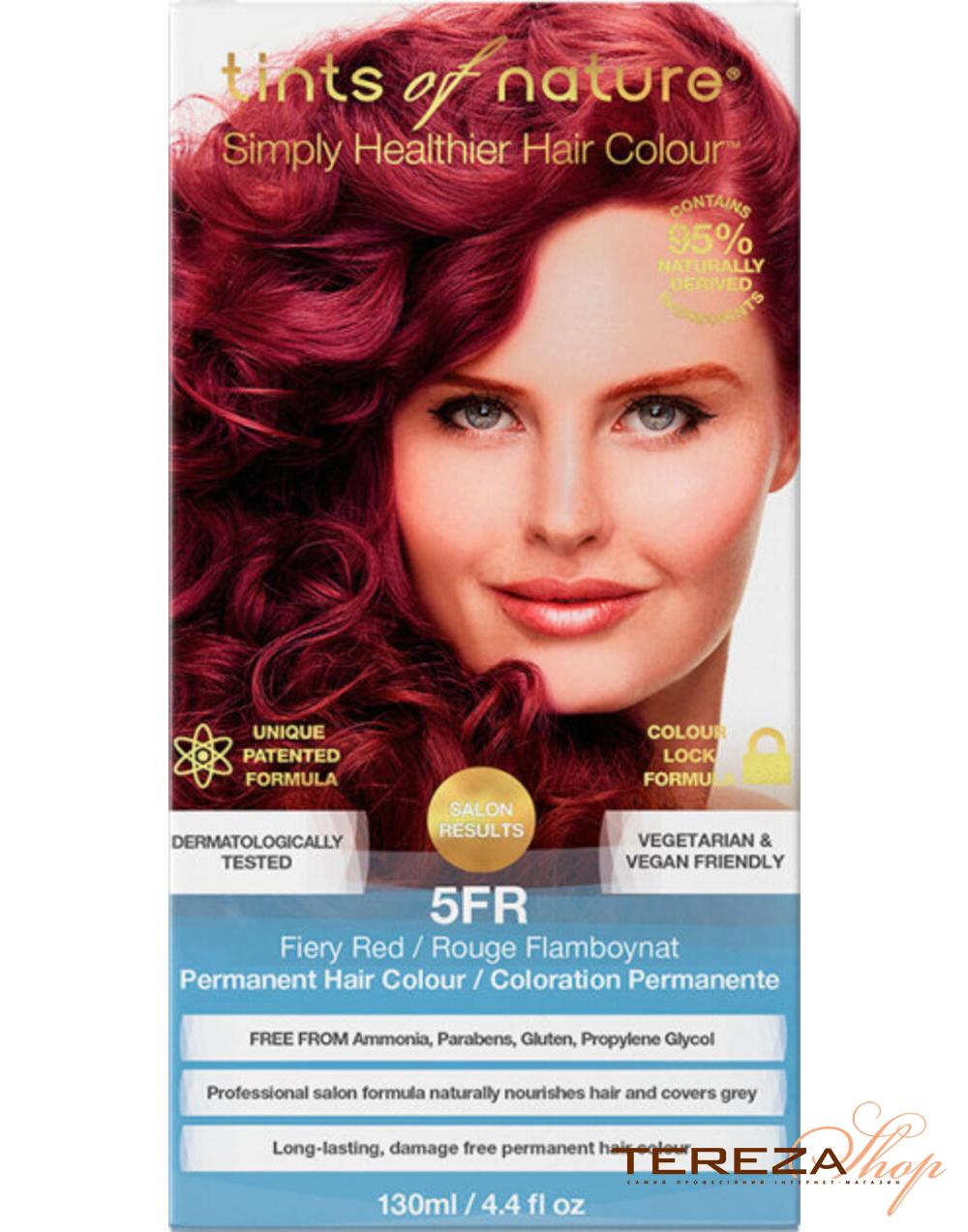 5FR FIERY RED TINTS OF NATURE | Tereza Shop