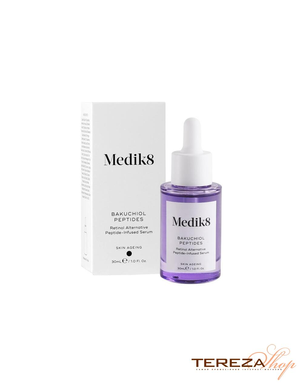 BAKUCHIOL PEPTIDES  MEDIK8 | Tereza Shop
